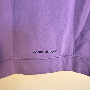 Under Armour Shirts & Tops - Youth large Under Armour purple sweatshirt